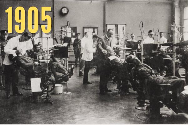 Old Dental Hospital in 1905