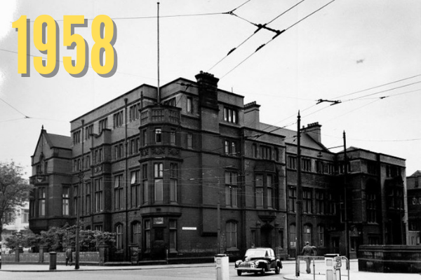 Old Students' Union in 1958