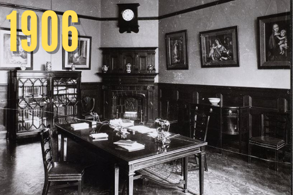 UMIST Principal's Office in 1906
