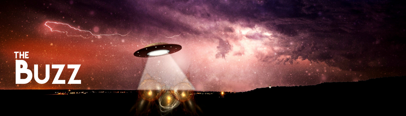UFO and The Buzz logo