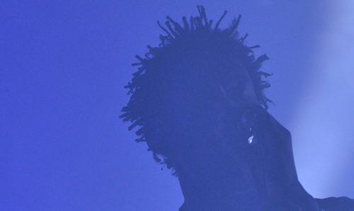 Massive Attack on stage