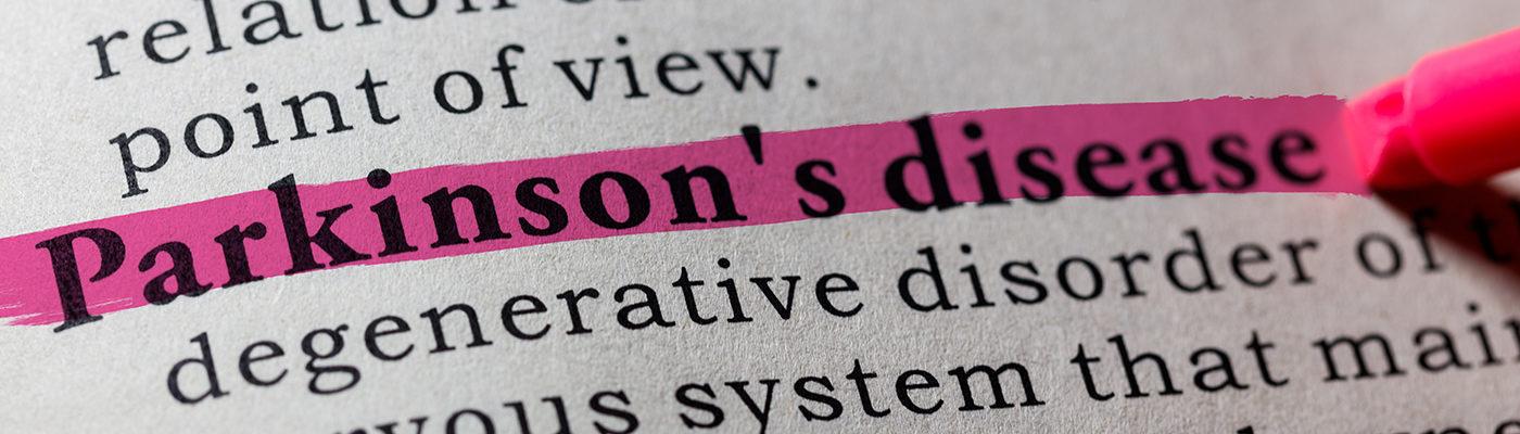 Parkinson's disease dictionary entry