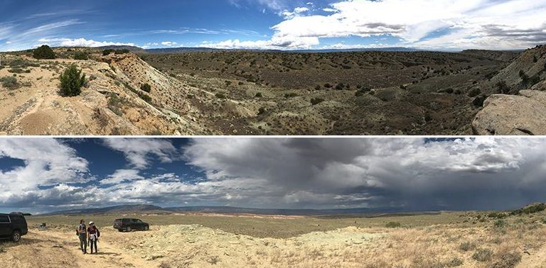 Lanscape of Wyoming