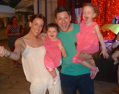 Gianpaolo and his lovely family enjoying their holidays!
