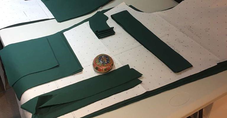 Pattern cutting materials